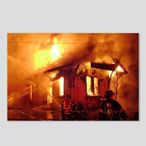 Fireman 09 Postcards (Package of 8)
