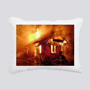 Fireman 09 Rectangular Canvas Pillow