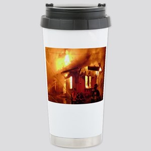 Fireman 09 Stainless Steel Travel Mug