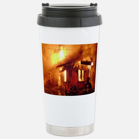 Fireman 09 Stainless Steel Travel Mug