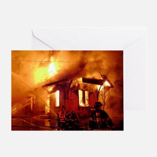 Fireman 09 Greeting Card