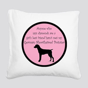 GSPBlackGBF Square Canvas Pillow