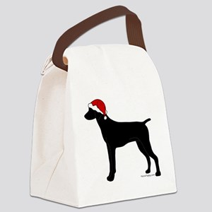 GSPBlackSanta Canvas Lunch Bag