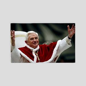 pope_benedict_xviLG 3'x5' Area Rug