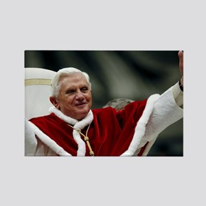 pope_benedict_xviLG Rectangle Magnet