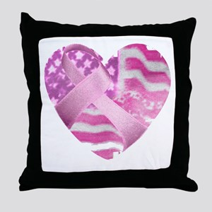 heart_cancer Throw Pillow