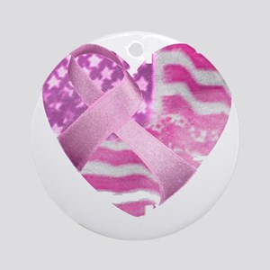heart_cancer Round Ornament