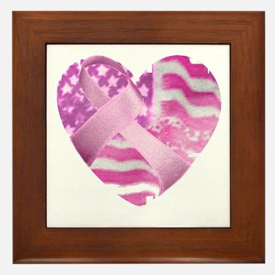 heart_cancer Framed Tile