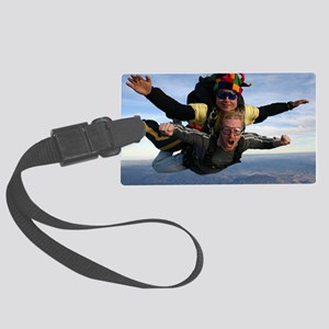 Skydive 12 Large Luggage Tag