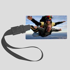 Skydive 12 Large Luggage Tag