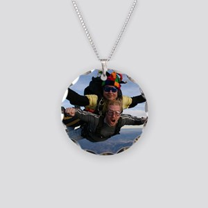 Skydive 12 Necklace Circle Charm