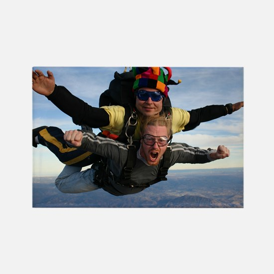Skydive 12 Rectangle Magnet