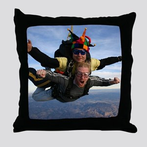 Skydive 12 Throw Pillow