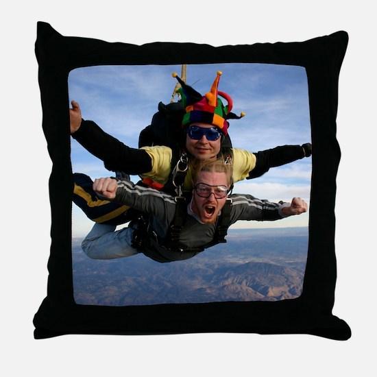 Skydive 12 Throw Pillow
