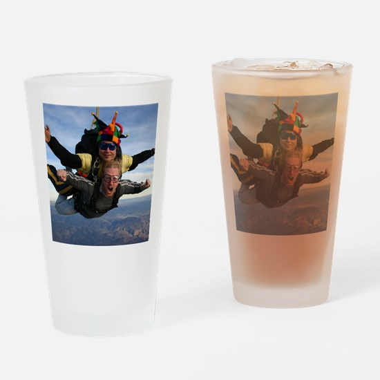 Skydive 12 Drinking Glass