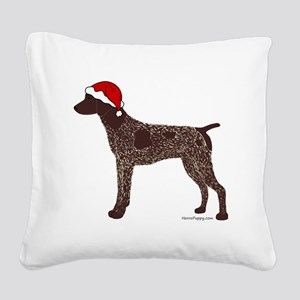 GSPColorSanta Square Canvas Pillow