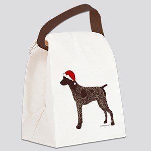 GSPColorSanta Canvas Lunch Bag