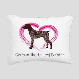 GSPColorHeart Rectangular Canvas Pillow