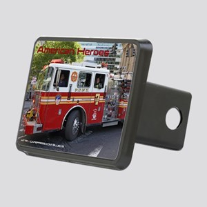 Fireman 06 Rectangular Hitch Cover
