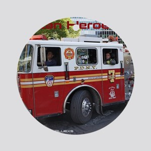 Fireman 06 Round Ornament