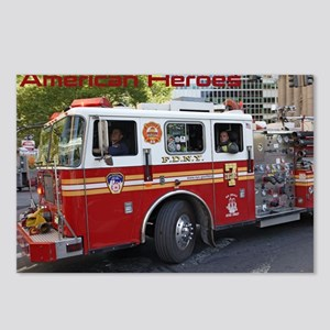Fireman 06 Postcards (Package of 8)
