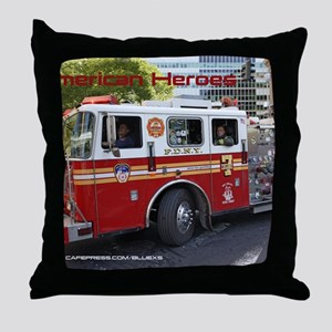 Fireman 06 Throw Pillow