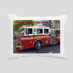 Fireman 06 Rectangular Canvas Pillow