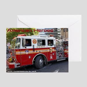 Fireman 06 Greeting Card