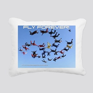 skydive cover Rectangular Canvas Pillow