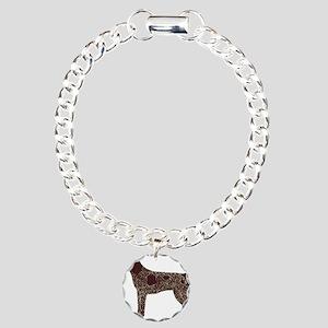 GSPColor Charm Bracelet, One Charm