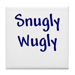 Snugly Wugly Tile Coaster