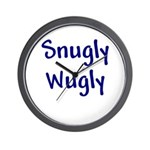 Snugly Wugly Wall Clock
