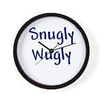 Snugly Wugly Wall Clock