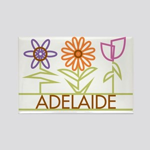 ADELAIDE-cute-flowers Rectangle Magnet