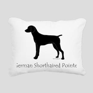 GSPBlackWords Rectangular Canvas Pillow
