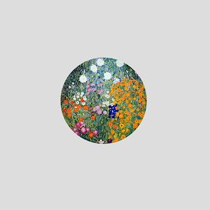 iPad Klimt Flowers Mini Button