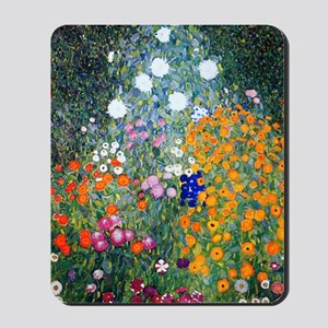 iPad Klimt Flowers Mousepad