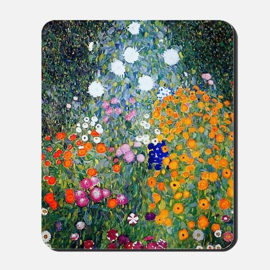 iPad Klimt Flowers Mousepad
