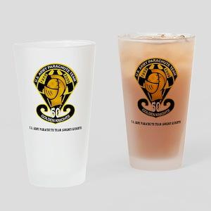 SSI-USAPTGoldenKnights-txt Drinking Glass