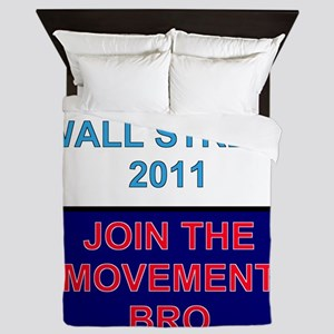 Join-the-movement-bro Queen Duvet