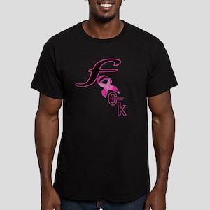 fuck_cancer_11 Men's Fitted T-Shirt (dark)