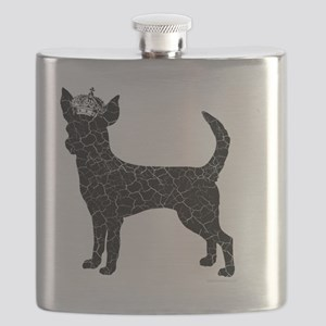 DanteKing_blackdistressed Flask