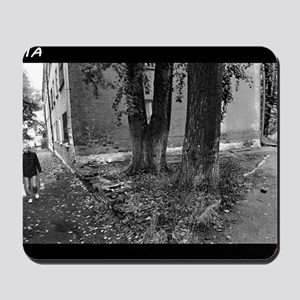 carrying water-photo-217-216 Merge BW Po Mousepad