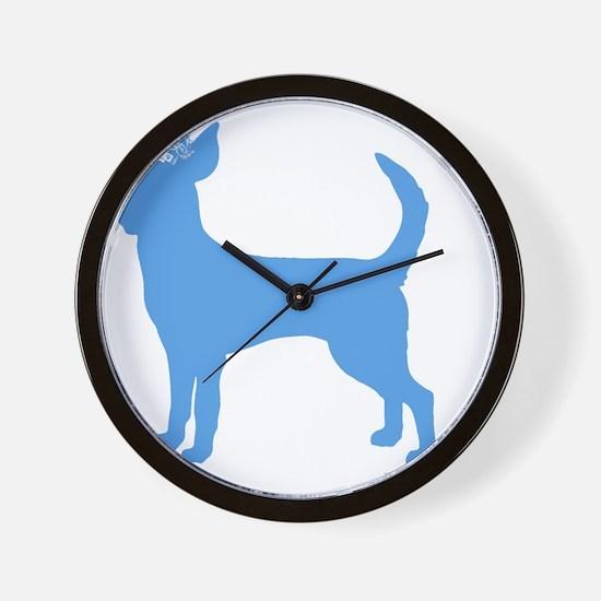 DanteKing_babyblue Wall Clock