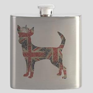 DanteKing_britishdistressed Flask
