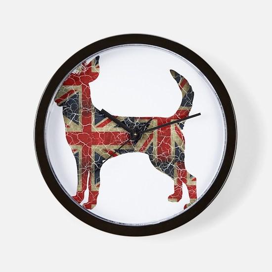 DanteKing_britishdistressed Wall Clock