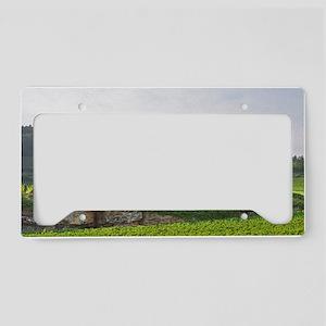 The Les Bonnes Mares Grand Cr License Plate Holder