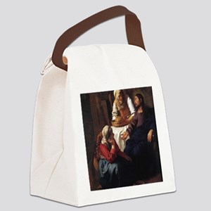 vermeer-martha Canvas Lunch Bag