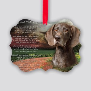 godmadedogs(laptop) Picture Ornament