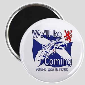 Scotland football well be coming Magnet